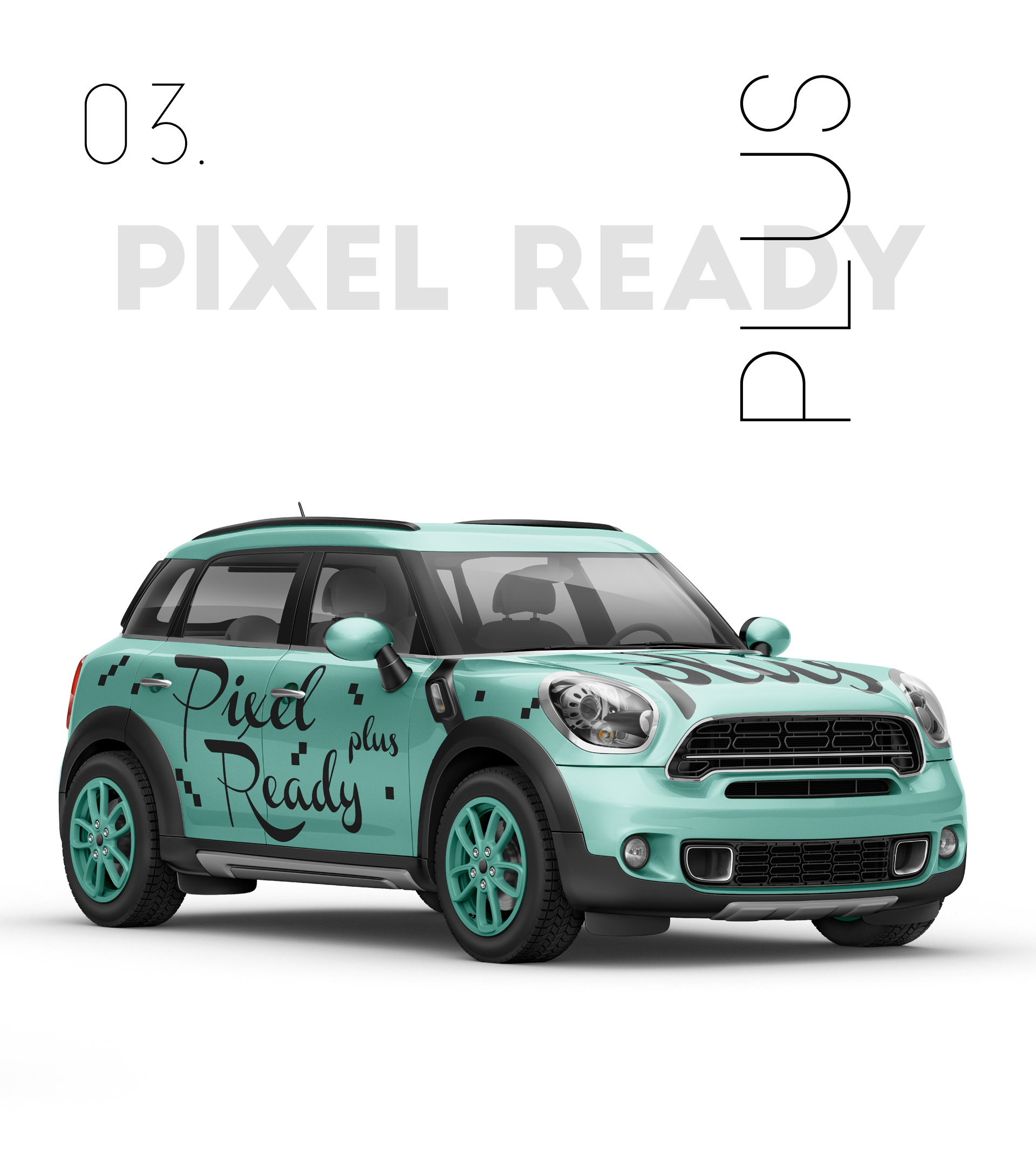 Ready Made - Pixel Plus Package