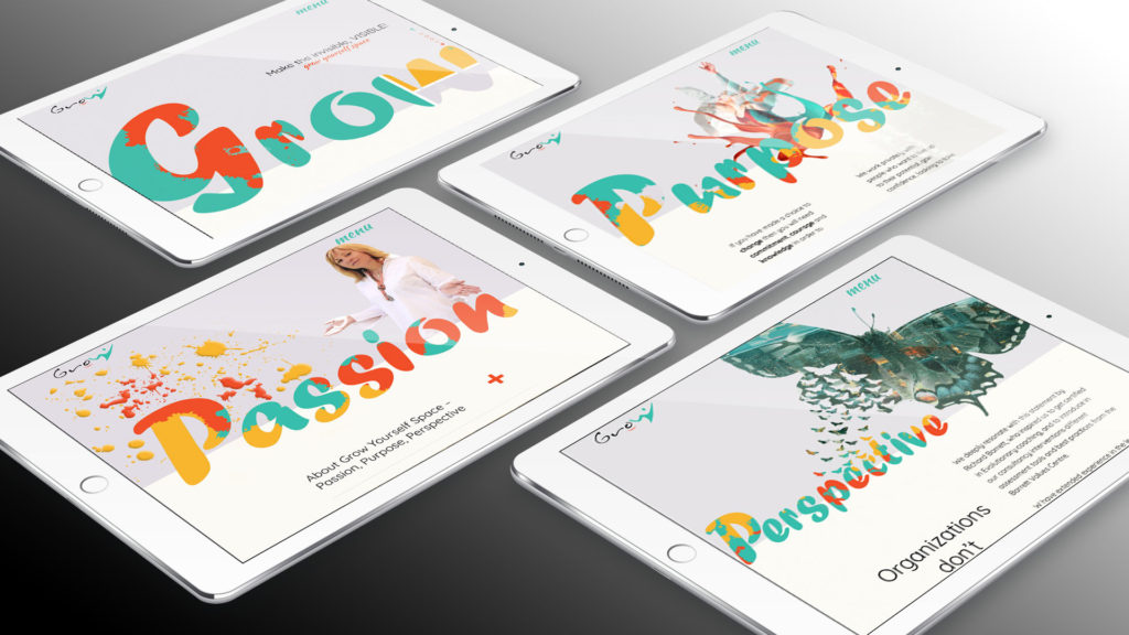 Grow Yourself Space – iPads
